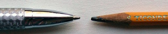 Pen vs. Pencil