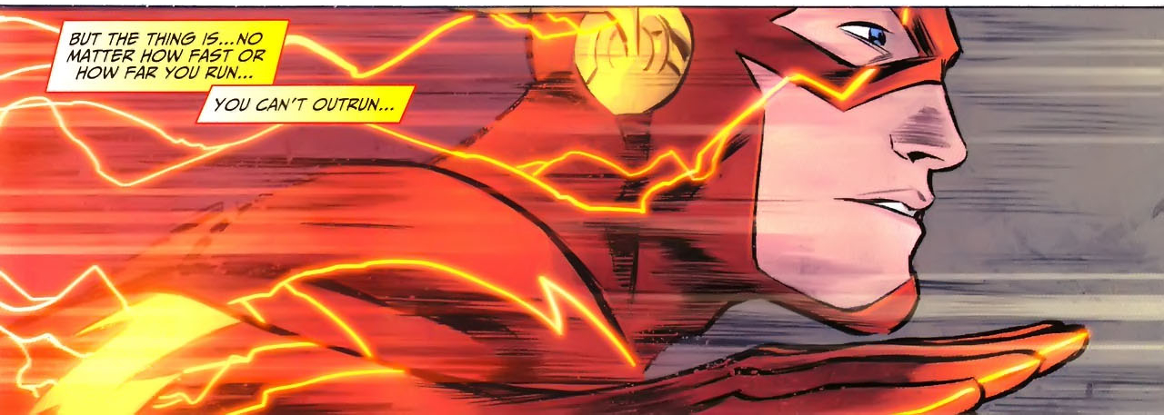 Heroes The Flash You Can T Outrun Everything Barry Allen
